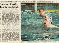 SG Wasserball Dresden übernimmt Tabellenführung in der Landesliga
