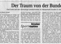 Serie: Dresdner Sportkapitäne - Der Traum von der Bundesliga