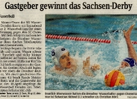 Gastgeber gewinnt das Sachsen-Derby