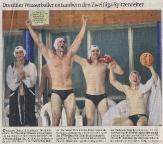 Dresdner Wasserballer entzaubern den Zweitliga Spitzenreiter