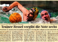 Trainer Ressel vergibt Note sechs