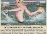 Schützenfest gegen überforderte Magdeburger
