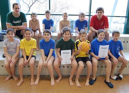 SG Wasserball Dresden belegt Platz 2 im Landespokal der Jugend E