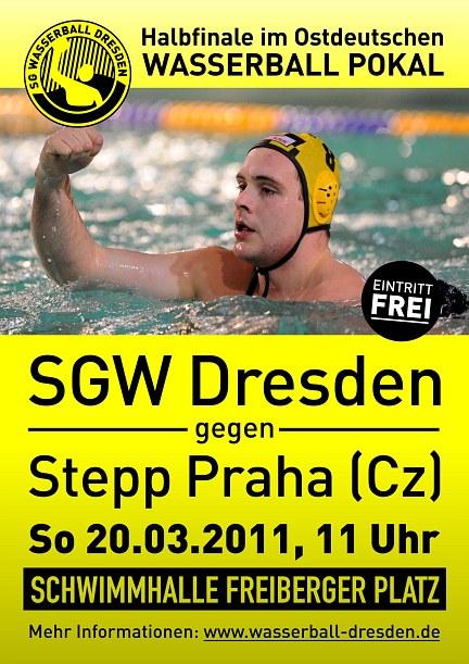 Plakat: SGW Dresden - Stepp Praha