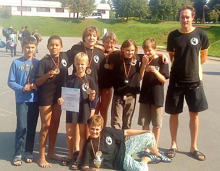 D-Jugend der SGW Dresden beim Bezirkspokal 2011 in Chemnitz