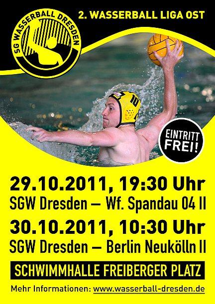 Wasserball Plakat