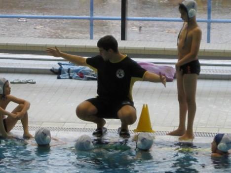 Dresdner Wasserball E-Jugend in Plauen