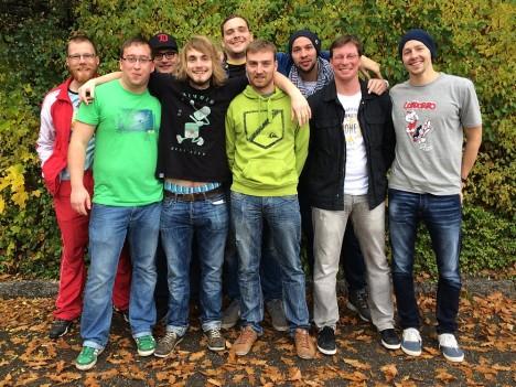 Das Dresdner Team beim Tacke Turnier 2013 in Villinen