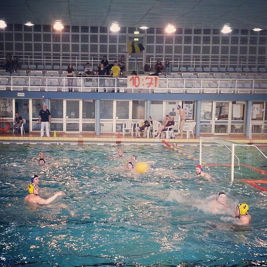 SG Wasserball Dresden gegen HSG TH Leipzig am 23.02.2014, Bild 1
