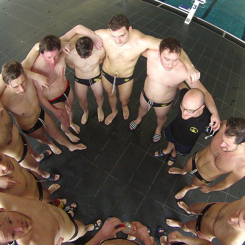 Wasserball Team Dresdennach dem Spiel gegen Zwickau