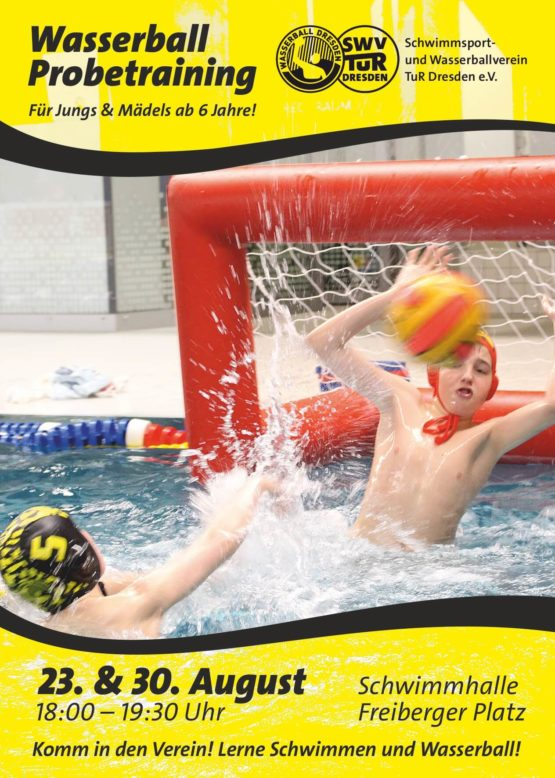 Wasserball Schnuppertraining 2017