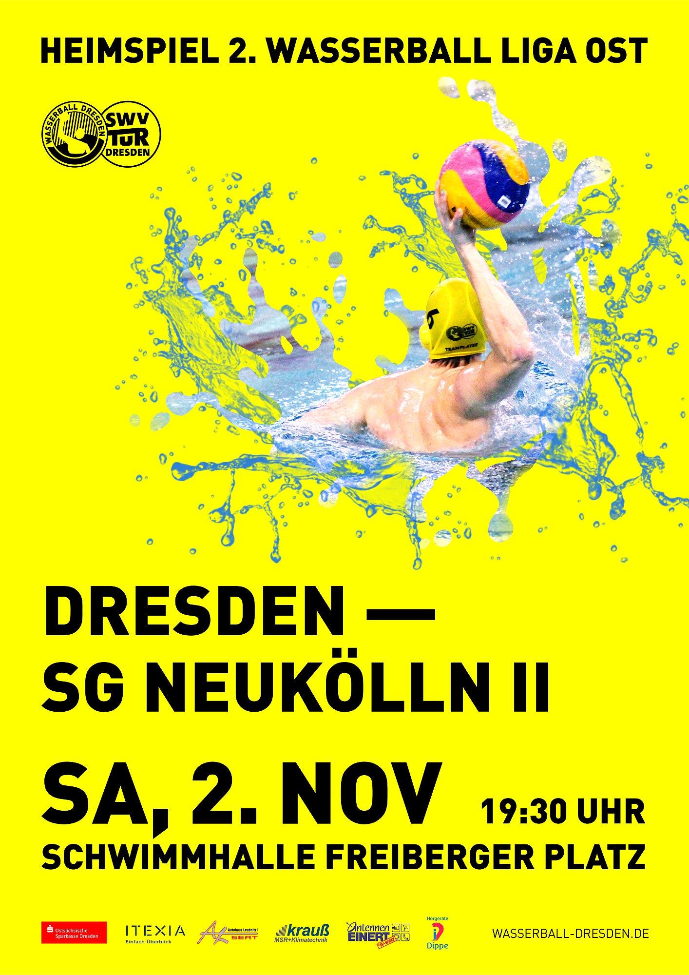 2. WLO Dresden - Neukölln 12:14
