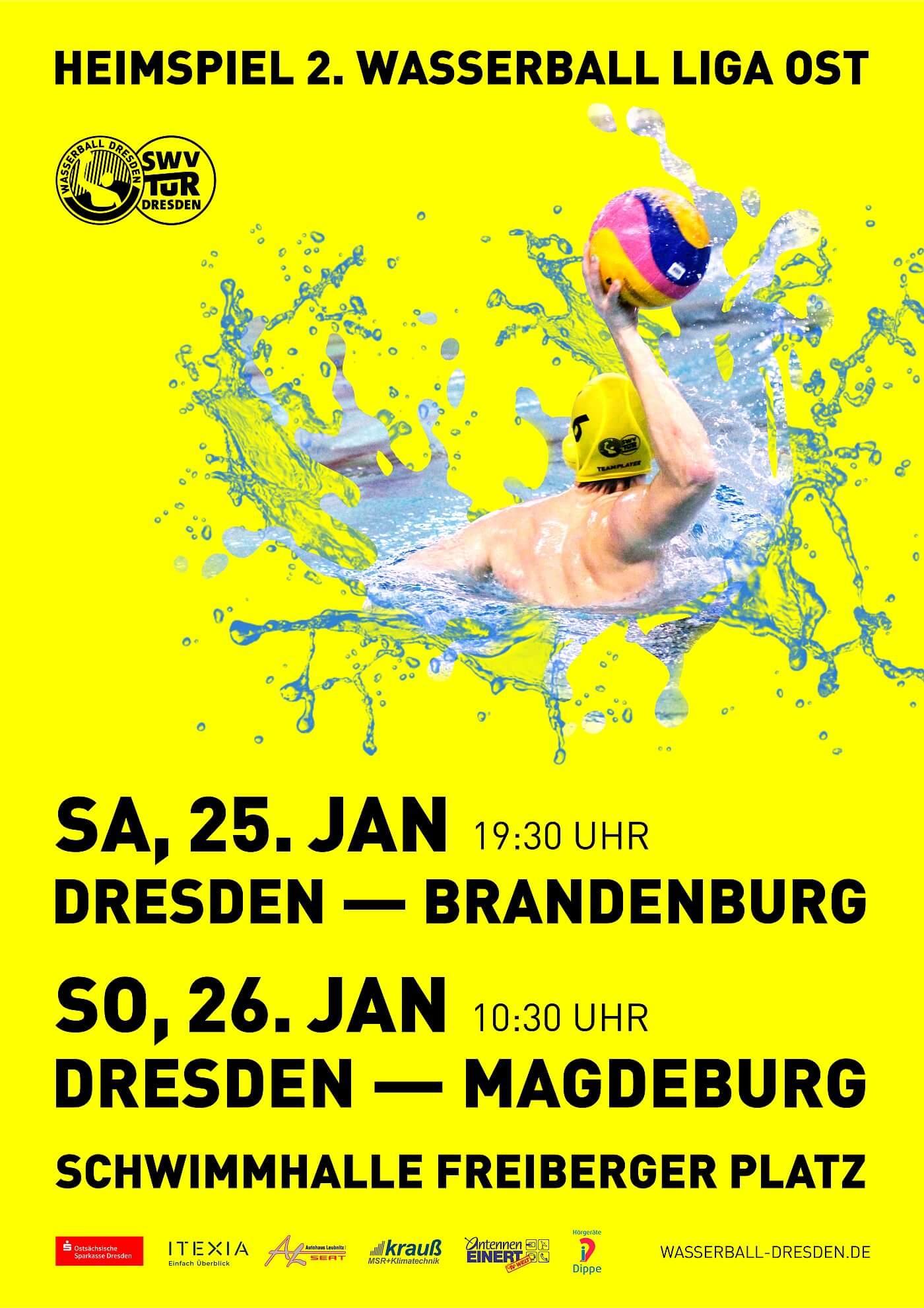 2. WLO Dresden - Brandenburg 11:13