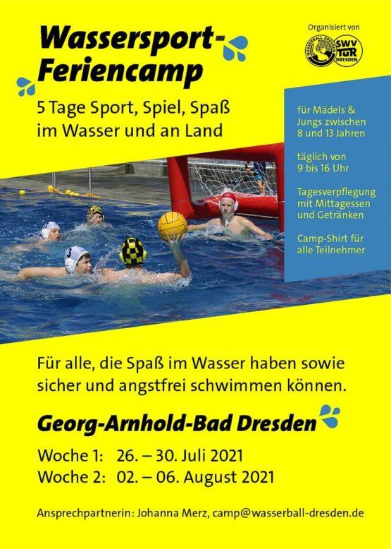 Wassersport Feriencamp 2021 Dresden