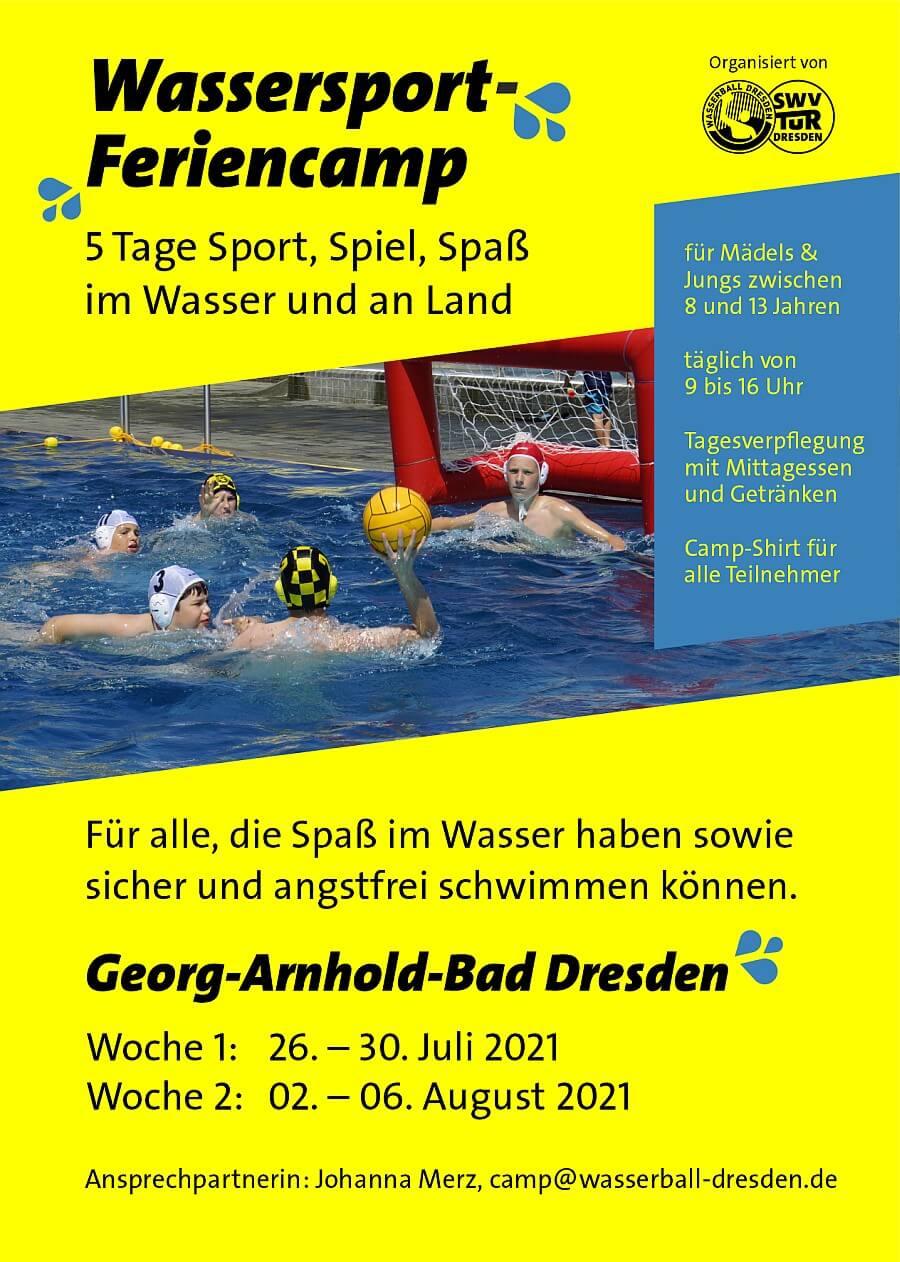 Wassersport-Feriencamp Woche 1