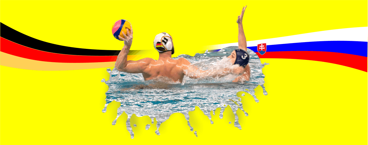 Wasserball Länderspiel Deutschland gegen Slowakei in Dresden