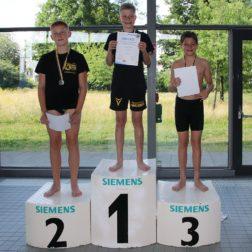Wasserball Vielseitigkeitstest 2021 in Görlitz