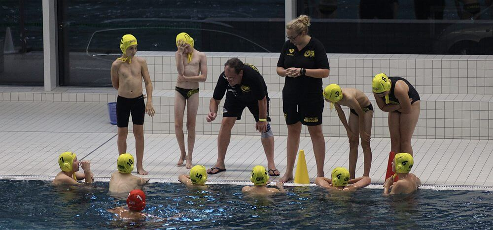 U12 Wasserball Turnier in Dresden, September 2021